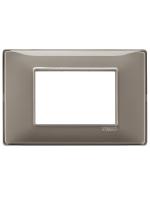14653.40 plana vimar placca 3 posti reflex colore cenere
