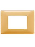 14653.43 plana vimar placca 3 posti reflex colore ambra