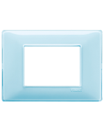 14653.45 plana vimar placca 3 posti reflex colore acqua