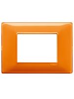 14653.48 plana vimar placca 3 posti reflex colore arancio