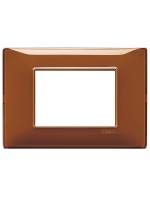 14653.49 plana vimar placca 3 posti reflex colore tabacco