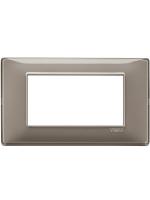 14654.40 plana vimar placca 4 posti reflex colore cenere