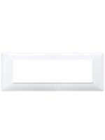 14657.01 plana vimar placca 7 posti colore bianco