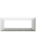 14657.81 plana vimar placca 7 posti colore alluminio spazzolato