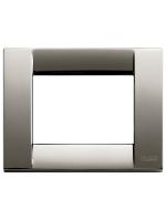 16733.31 idea vimar placca classica 3 posti colore cromo nero