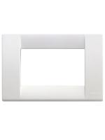 16743.01 idea vimar placca classica 3 posti colore bianco brillante