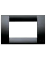 16743.16 idea vimar placca classica 3 posti colore nero