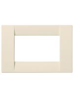 16743.D.04 idea vimar placca classica 3 posti silk colore bianco