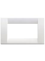 16744.01 idea vimar placca classica 4 posti colore bianco brillante