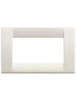 16744.04 idea vimar placca classica 4 posti colore bianco