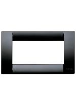 16744.16 idea vimar placca classica 4 posti colore nero