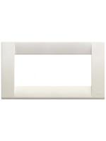 16745.04 idea vimar placca classica 5 posti colore bianco