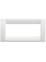 16746.01 idea vimar placca classica 6 posti colore bianco brillante
