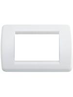 16763.01 idea vimar placca rondo 3 posti colore bianco brillante
