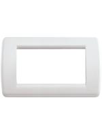 16764.04 idea vimar placca rondo 4 posti colore bianco