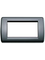 16764.16 idea vimar placca rondo 4 posti colore nero