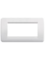 16765.04 idea vimar placca rondo 5 posti colore bianco