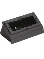16806 idea vimar scatola da tavolo 6 posti colore grigio