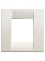 17097.04 idea vimar placca classica 1/2 posti colore bianco