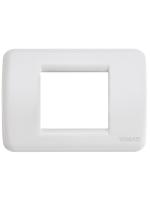 17098.04 idea vimar placca rondo 1/2 posti colore bianco