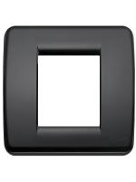 17098.16 idea vimar placca rondo 1/2 posti colore nero