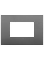 19653.72 placca classic 3m grigio arkè vimar