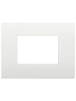 19653.74 vimar arkè placca classica 3 posti colore bianco
