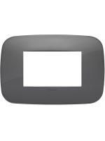 19683.82 vimar arkè placca round 3 posti colore grigio