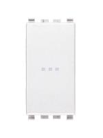 20101.B eikon vimar interruttore 1 polo 16ax assiale colore bianco