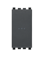 20101 eikon vimar interruttore 1 polo 16ax assiale colore grigio