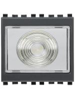 20395 eikon vimar torcia elettronica portatile 230v colore grigio