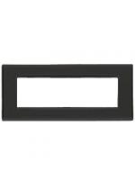 20657.40 eikon vimar placca classic 7 posti reflex colore grafite