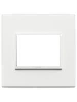 21653.17 eikon evo vimar placca 3 posti colore bianco totale