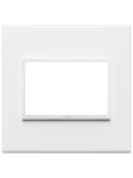 21654.17 eikon evo vimar placca 4 posti colore bianco totale