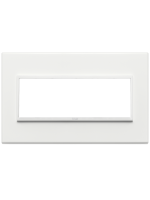 21657.17 eikon evo vimar placca 7 posti colore bianco totale