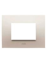 Abb chiara 2csk0301ch placca 3 moduli colore bianco