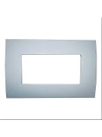 Abb chiara 2csk0403ch placca 4 moduli colore pietra