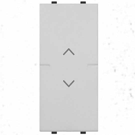 2CSY1018MC pulsante doppio interbloccato bianco abb mylos