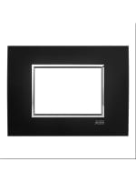 2CSY0323QSP abb mylos placca square velvet 3 moduli