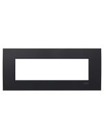 2CSY0700QEP placca etik square 7 moduli nero abb mylos