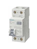 5SU13561KK16 interruttore magnetotermico differenziale siemens 1p+n 16a 30ma tipo ac 6ka 2 moduli