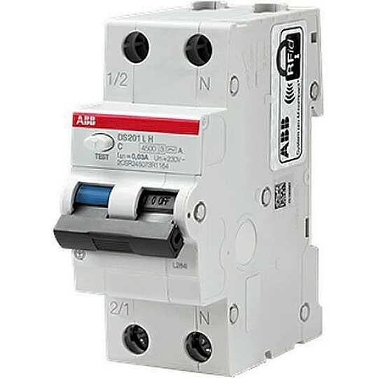 DS201LHC10AC30 abb ds201 l h interruttore differenziale magnetotermico