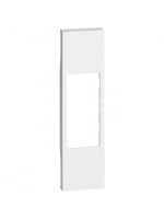 KW07 cover per connettori rj11/45 a/v bianco living now bticino