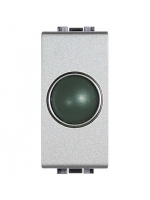 NT4371V living light tech bticino portalampada spia verde