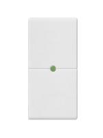 14531.S plana vimar tasto 1 polo neutro per pulsanti basculanti colore bianco