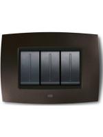 Abb elos 2cse0305smp placca smart tecn. 3 moduli colore grigio ardesia