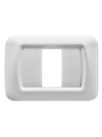 GW22501 Placca top Gewiss system bianca 1 posto