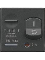 HS4305-16 axolute bticino scura magnetotermico differ 16 ampere