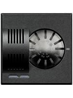 HS4692 axolute termostato ambiente scura bticino