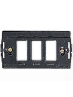 00361 Supporto 3 moduli Master compatibile anche con interruttori Bticino Magic